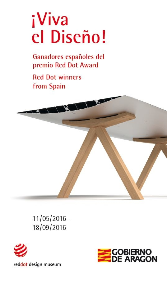 Exposición ¡Viva el Diseño! Red Dot Awards from Spain en Zaragoza