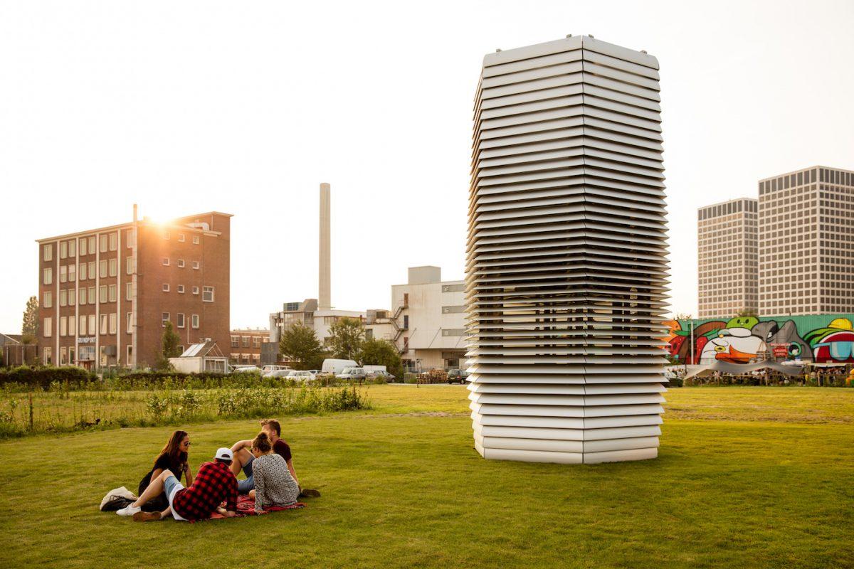 El purificador de aire para ciudades de Daan Roosegaarde llega a China