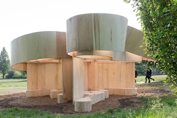 Summer House, Barkow Leibinger. Serpentine Gallery, 2016