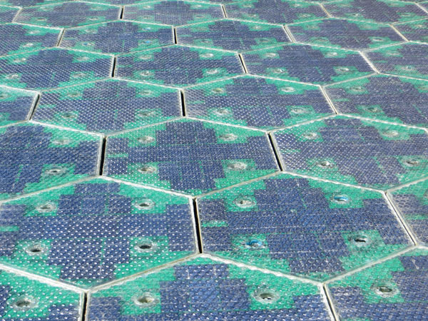 Solar Roadways, carreteras de paneles solares por Scott Brusaw