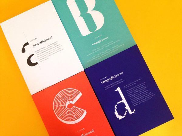 Typograph.Journal, Nicole Arnett Phillips, 2014-2016.
