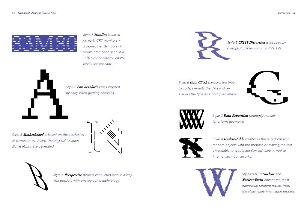 Typograph.Journal, vol. 04, Nicole Arnett Phillips, 2016.