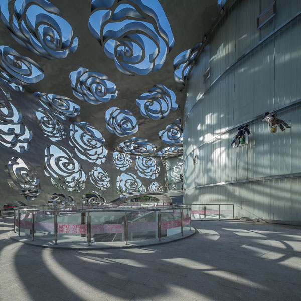 Rose Museum, NEXT Architects. Photo: Xiao Kaixiong