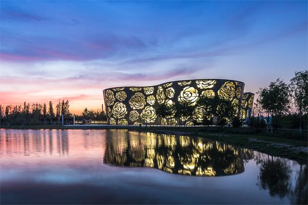 Next Architects diseña un museo dedicado a las rosas en Pekín