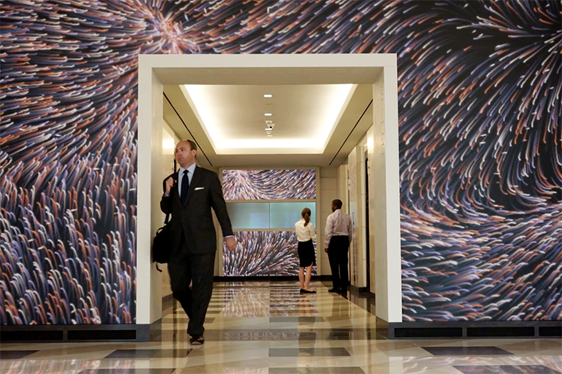 Terrell Place, el lienzo multimedia gigante de ESI Design