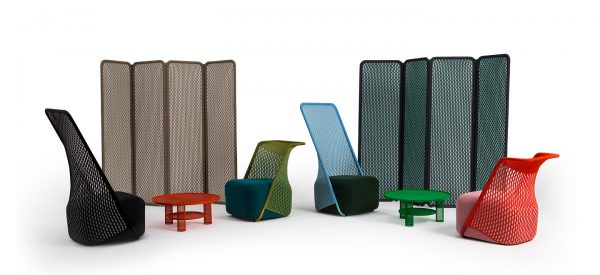 Cradle, Layer Design, Moroso, 2016.