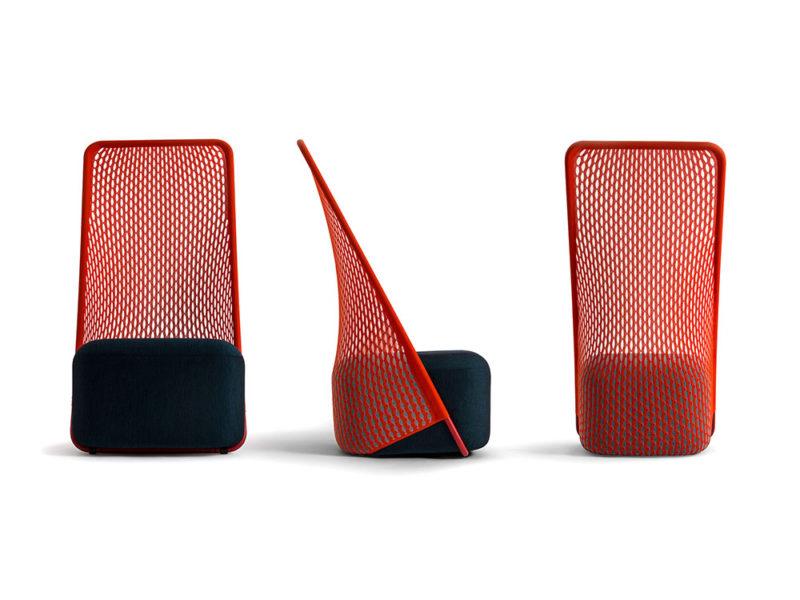 Cradle, impresión 3D. De Layer Design para Moroso