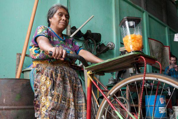 Maya Pedal, Bicimáquinas, 2016.