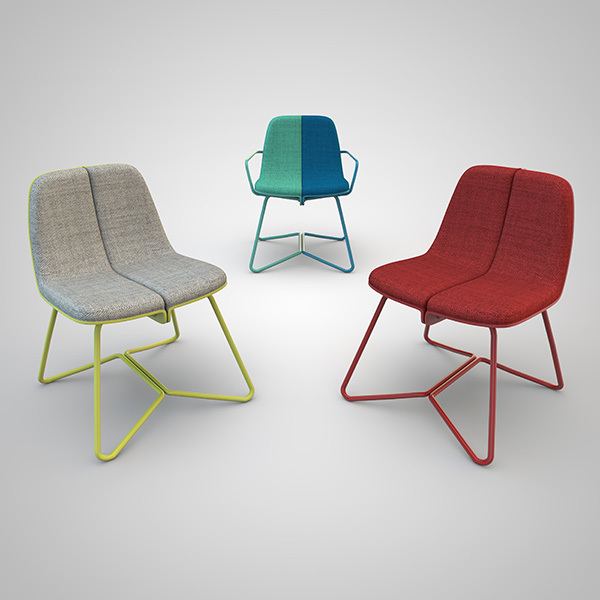 Medio & Medio, la silla dual de Federico Varone