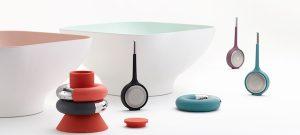 Diga, Koma y Torus, utensilios de cocina de Andrea Ponti para Ommo