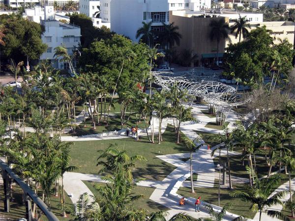 Miami Beach Soundscape, el jardín musical de West 8