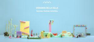 Veranos de la Villa, identidad gráfica y visual de Fragmento Universo