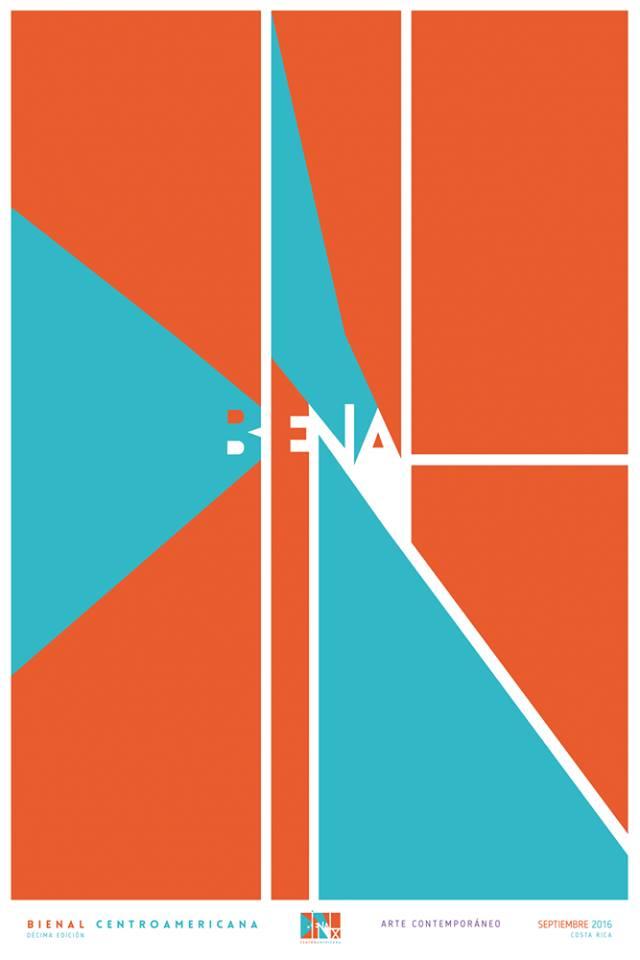 Cartel de José Alberto Hernández seleccionado para la Bienal del Cartel de México, 2016.