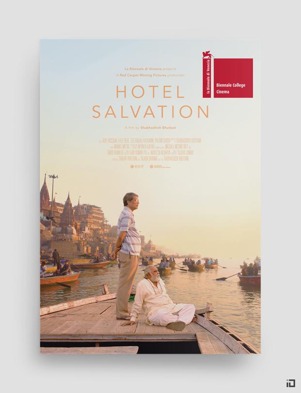 Hotel Salvation, cartel oficial. 73ª Biennale di Venezia.