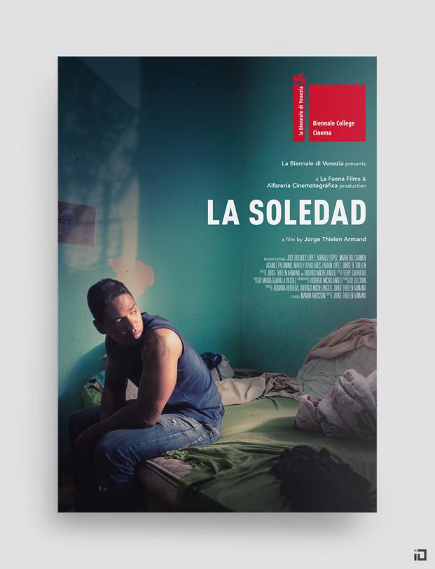 La Soledad, cartel oficial. 73ª Biennale di Venezia.