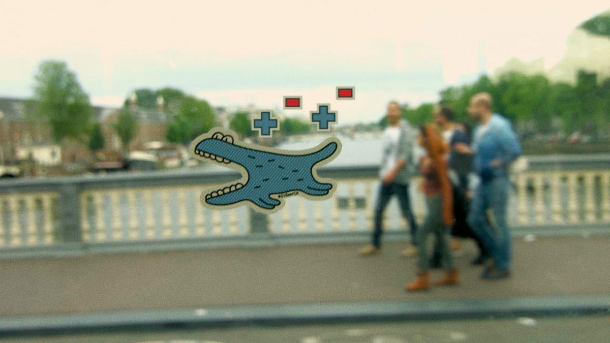 GVBeestje, el juego de realidad aumentada de Daniel Disselkoen