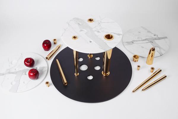 Glory Holes, la provocativa mesa de Richard Yasmine