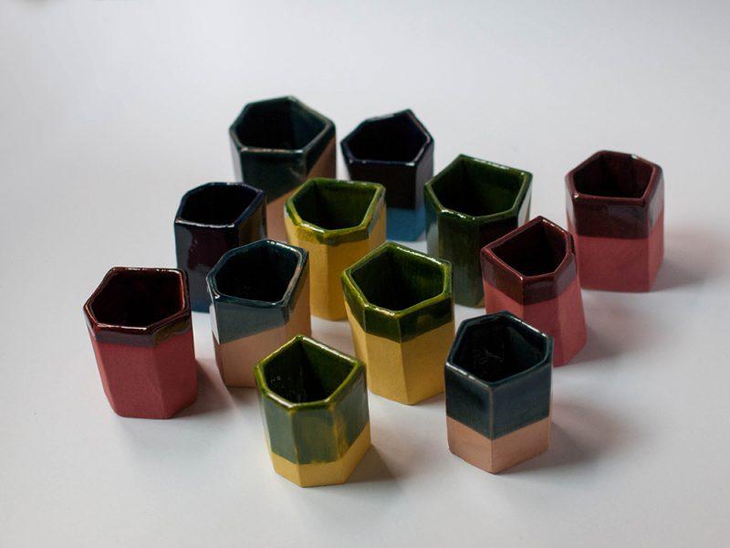 Escaleno, cerámica artesanal de Andrés Gallardo