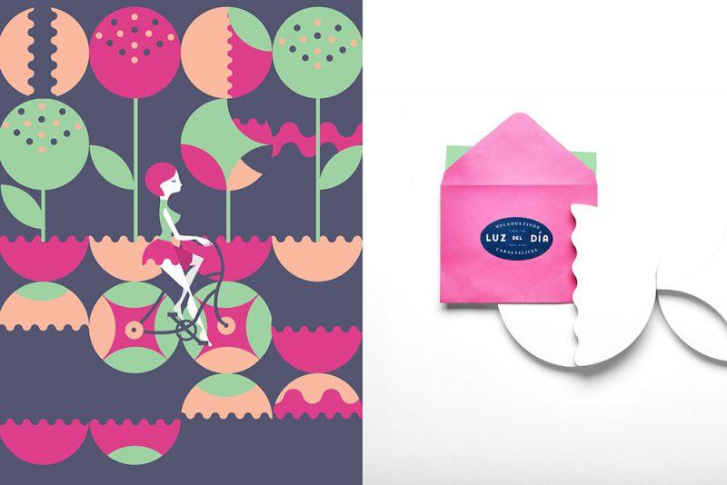 Luz del día, branding y packaging de Estudio Yeyé