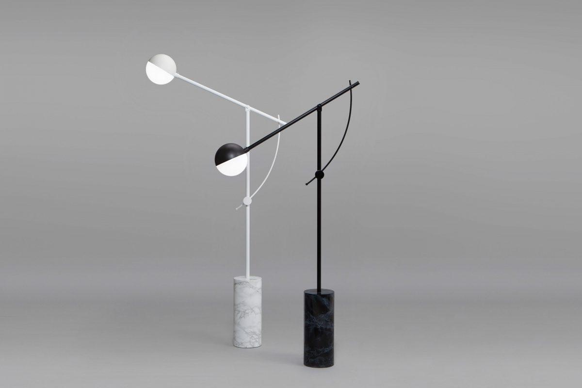 Lámpara Balancer, iluminación minimalista de Yuue