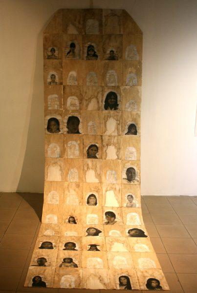 """Alma Leiva, """"San Pedro Sula tiene cuerpo de mujer"""" 2016. Foto LFQ."""