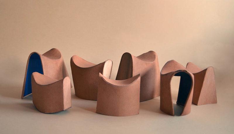 Arc Chairs, las sillas de montar de Ákos Huber