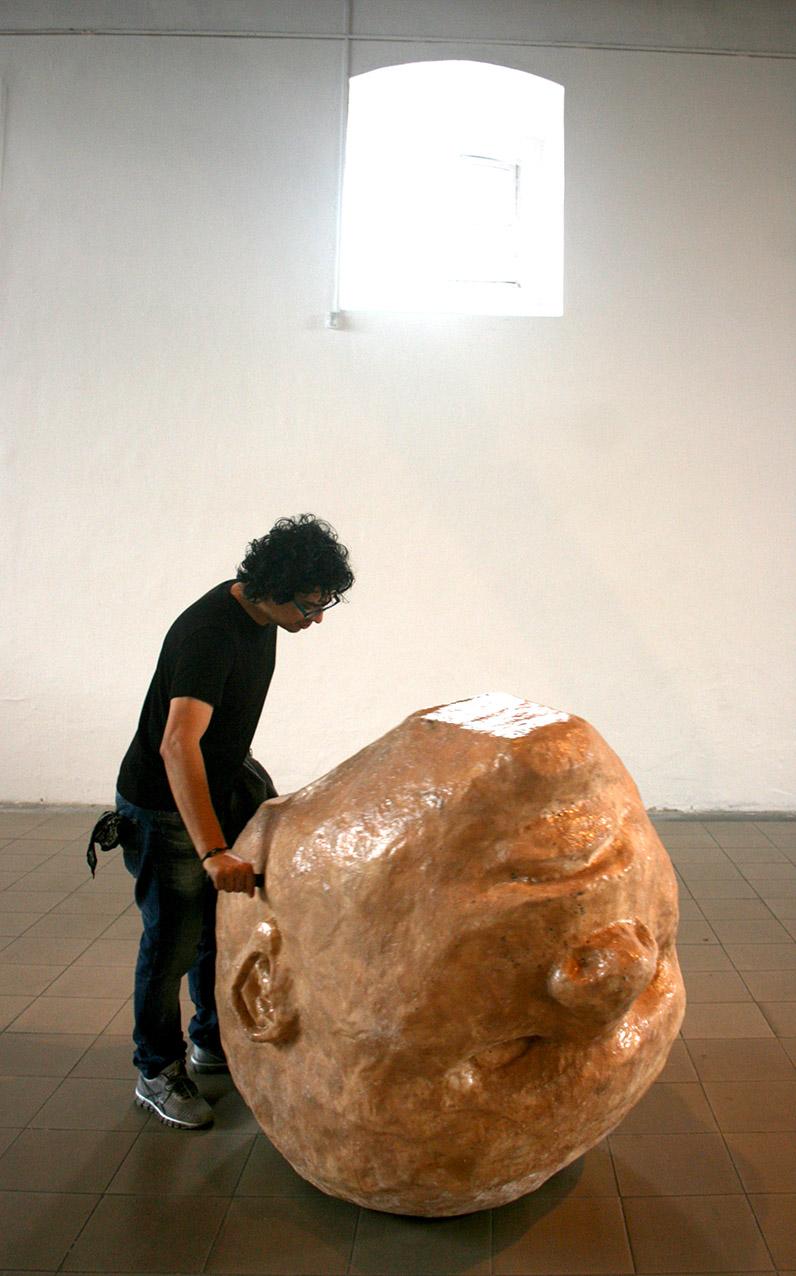 Patricia Belli, Sin Título. Sala 1 del MADC. Foto LFQ.