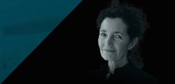 Caroline Bos de UNStudio en el Centro Cultural Conde Duque de Madrid