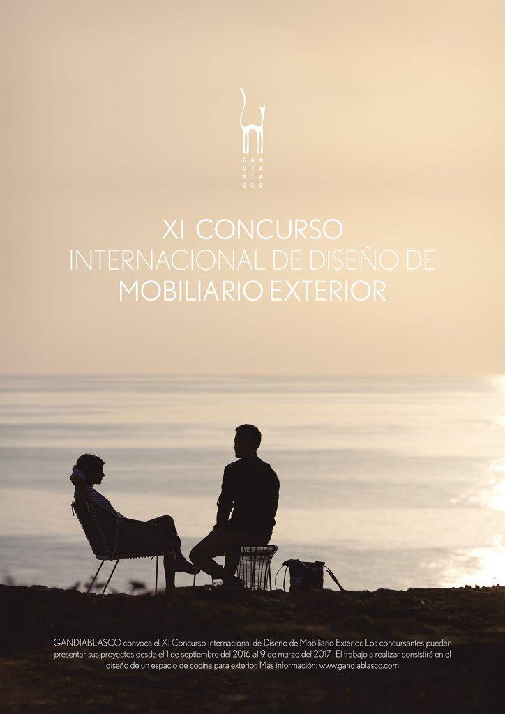 XI Concurso Internacional de Diseño de Mobiliario Exterior GandiaBlasco, 2016