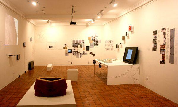 Instalación colectiva en el Centro Cultural Español. Foto LFQ.