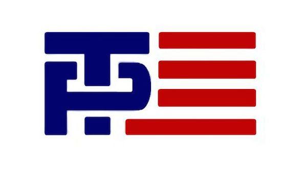 Logo de la campaña Trump-Pence, 2016