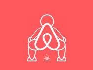 Meme logo Airbnb