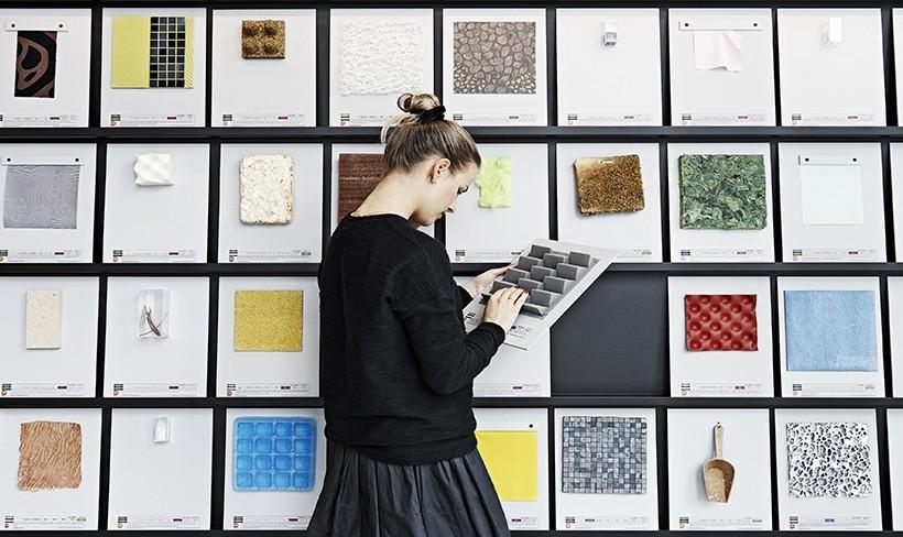 ESNE, la primera escuela de diseño de España en contar con una Materioteca
