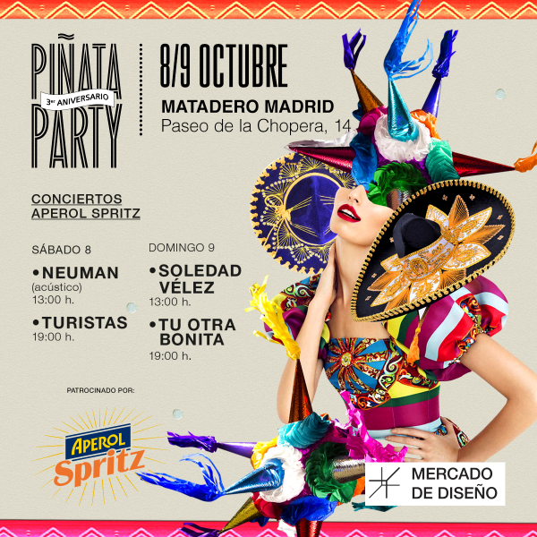 Mercado de Diseño, Matadero Madrid, 8 y 9 de octubre, 2016