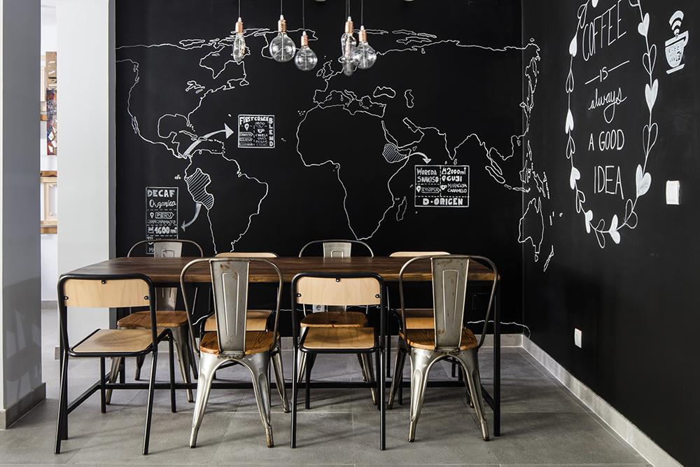 Sana Locura, espacio gastronómico diseñado por Antonio Chozas