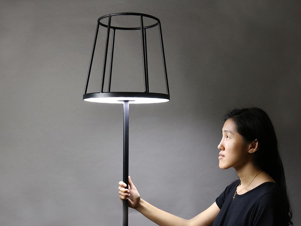 Lámpara Silhouette de Kevin Chiam, entre lo moderno y lo clásico