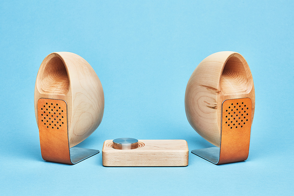 Wood Speaker, sistema de audio de madera de Grovemade