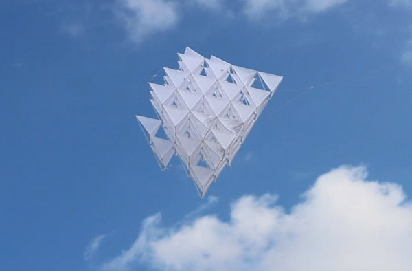Open Kite, cometa DIY de Sehun Oh Design