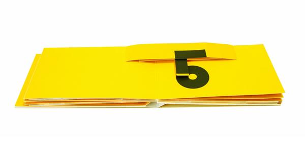Numero, el libro pop-up de Marion Bataille