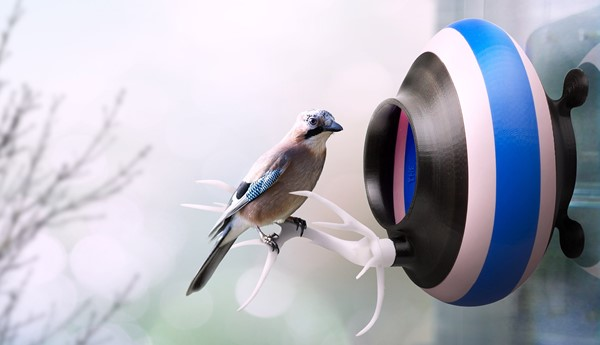 Printed Nest, tecnología 3D al servicio de las aves
