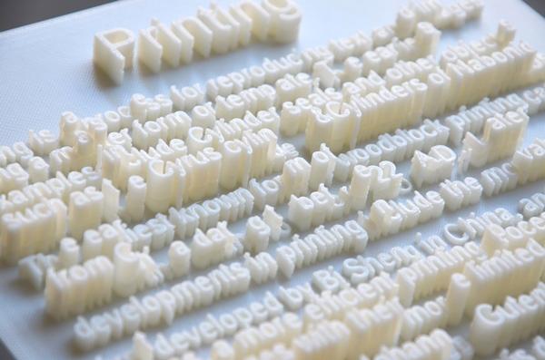 """Textscapes, los paisajes """"textuales"""" en 3D de Hongtao Zhou"""