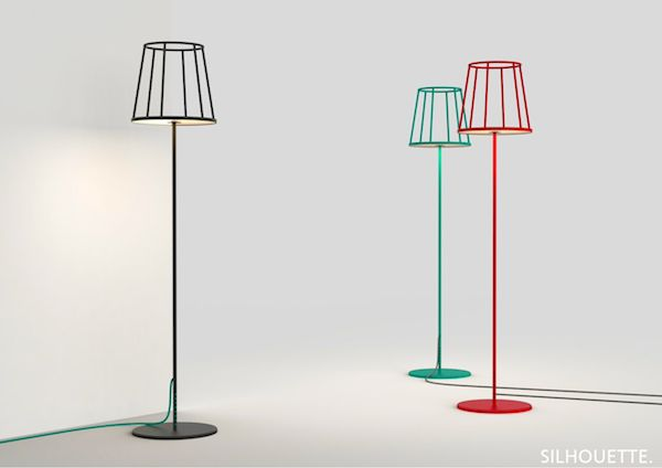 The Silhouette Lamp de Kevin Chiam