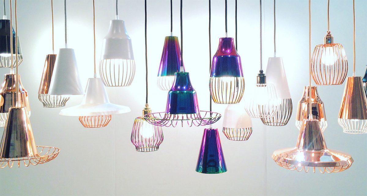 Union Collection, luminarias personalizables de Shelter Bay