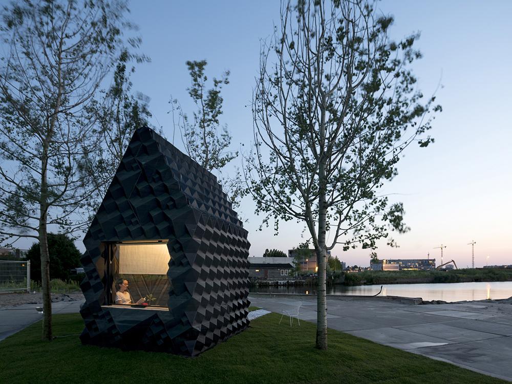 Urban Cabin, bioplástico y tecnología 3D de DUS Architects