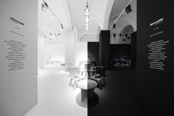 Light & Shadow de Nendo para Marsotto Edizioni. Fotografía: Akihiro Yoshida