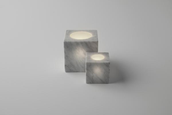 Sphere & cone. Light & Shadow de Nendo para Marsotto Edizioni. Fotografía: Akihiro Yoshida