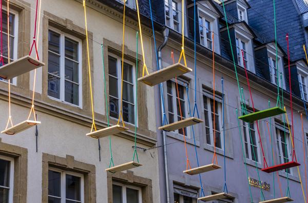 Swings, Max Mertens. Luxemburgo, 2016