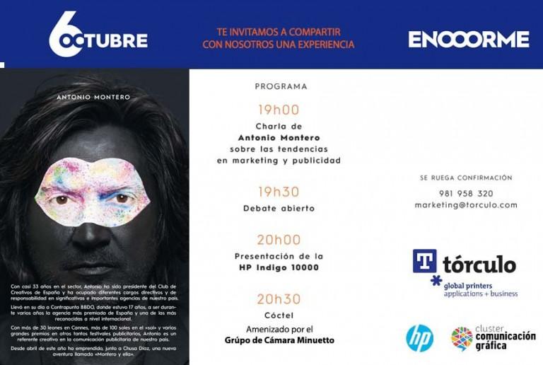 """Antonio Montero, """"Las tendencias en marketing, publicidad y comunicación gráfica"""""""