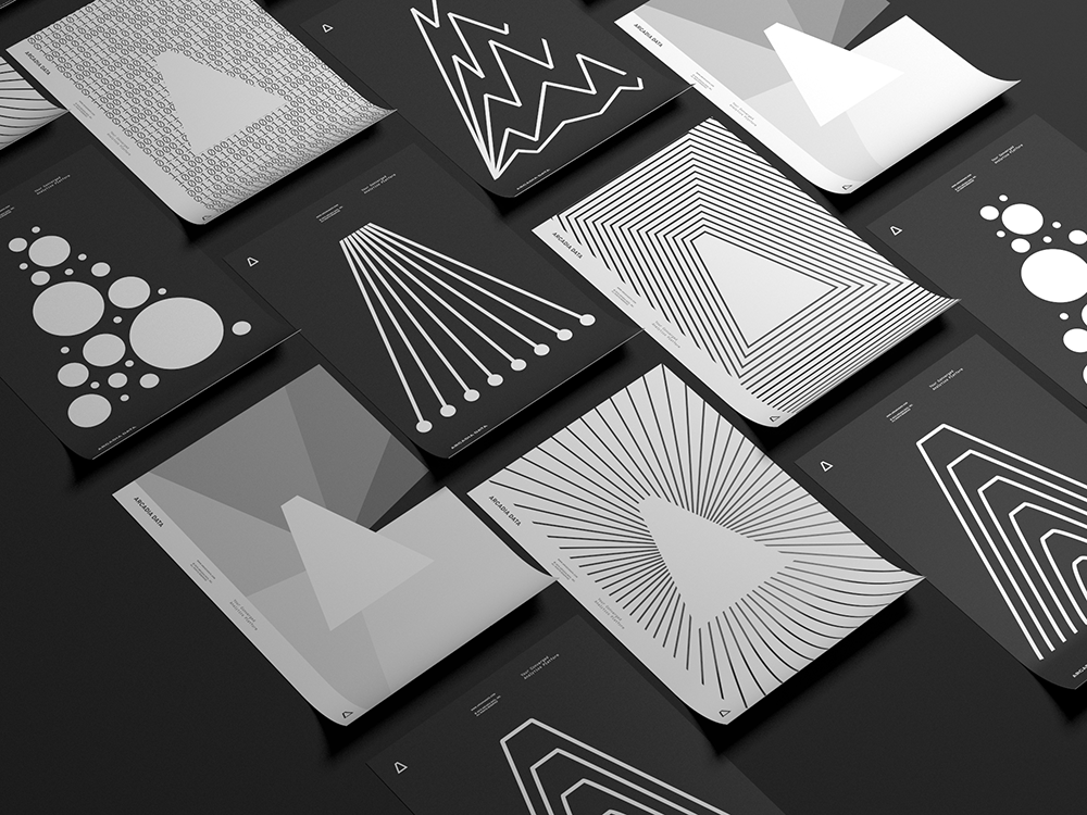 Arcadia Data, identidad visual de Casey Martin. Diseñar Big Data