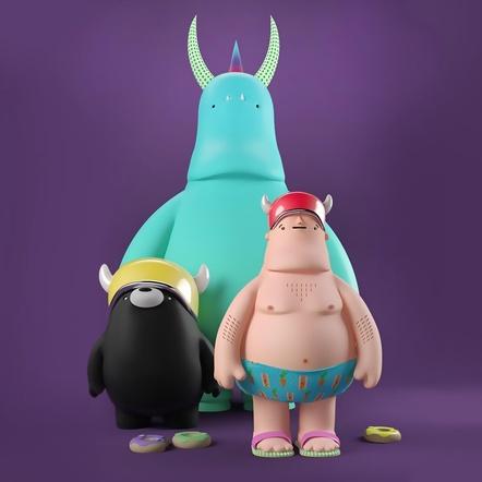 Curso Domestika: Personajes 3D: diseño, render y animación